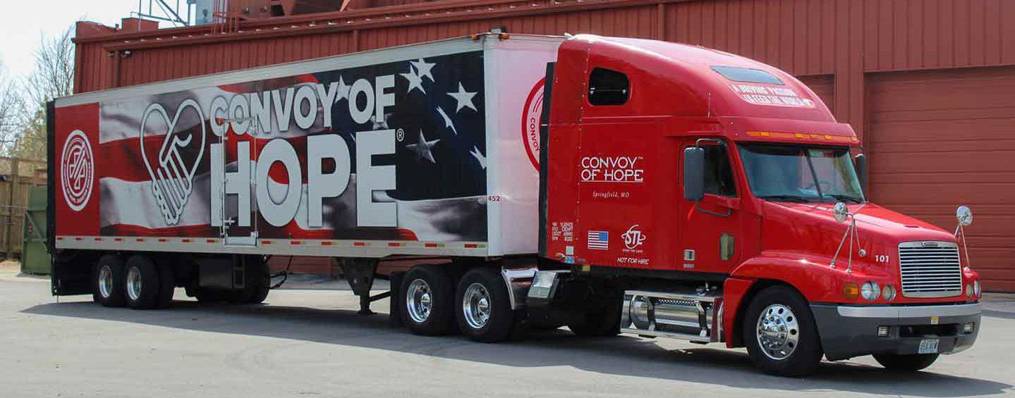 Convoy of Hope Semi